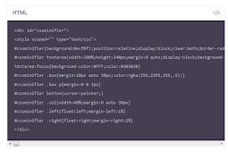 Cara Membuat Kotak Kode HTML atau CSS pada Postingan Blog