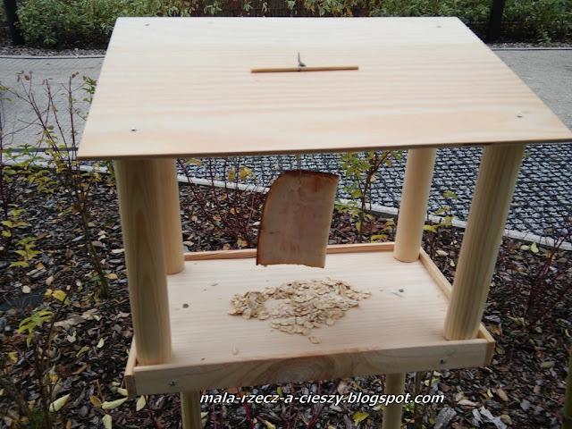 Jak zrobić z dzieckiem drewniany karmnik dla ptaków? DIY