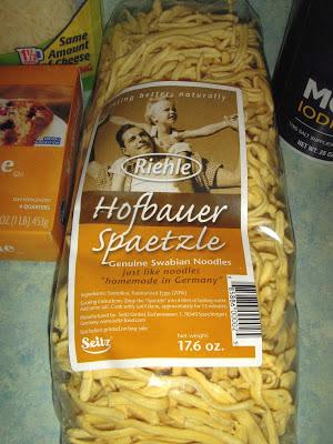 Margaret's Morsels | Spaetzle