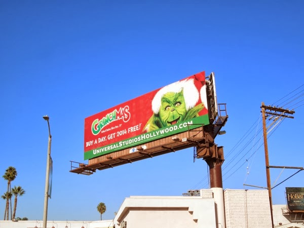 Grinchmas 2013 billboard