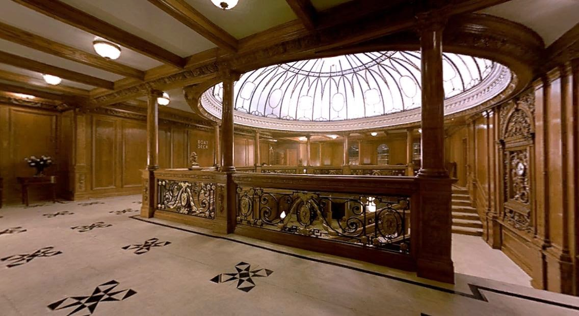 TITANIC Historys Most Famous Ship The Grand Staircase