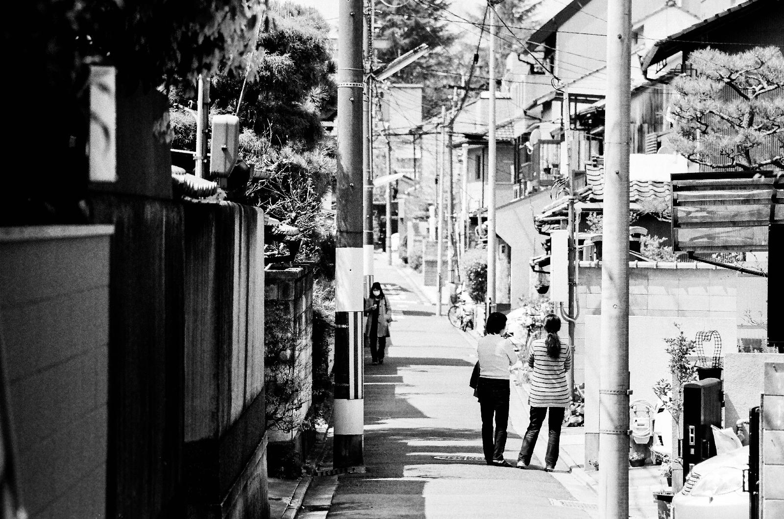 「當地的生活風景」京都 | 黑白 | 攝影集
