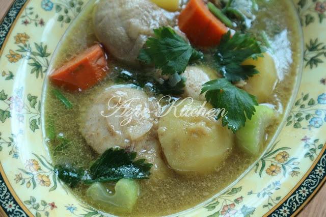 Sedikit pesanan dari Ustaz Hafiz dalam kuliah Subuh Surau Ad Dhuha biar kita menghidupka Sup Ayam Sedap Dan Mudah