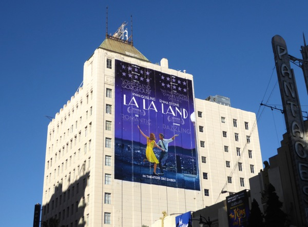 La La Land film billboard