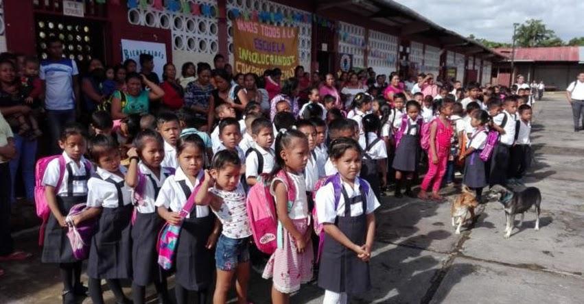 Loreto se adelanta e inicia el año escolar en la zona de frontera hoy lunes 4 de marzo