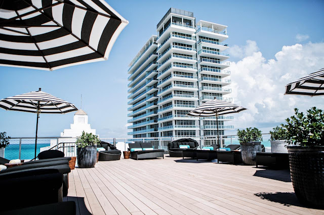 Hotel Croydon, a fully-renovated boutique hotel located steps away from the ocean in Miami.