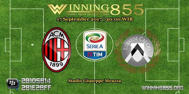 Prediksi Skor Milan vs Udinese