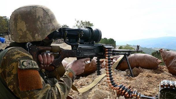L'esercito turco ha ucciso 2 terroristi nel nord dell'Iraq