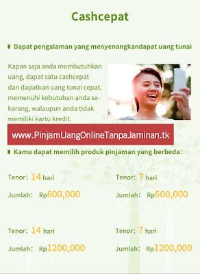 cash cepat/ Dana online/uang pinjaman tunai/ kredit tanpa agunan