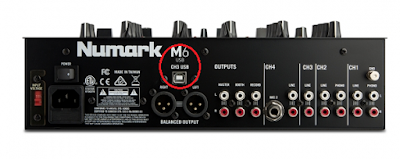 Colokan kabel Numark M6 USB