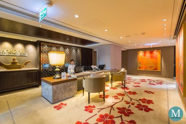 Horizon Club Lounge at Shangri-La Hotel Bangkok