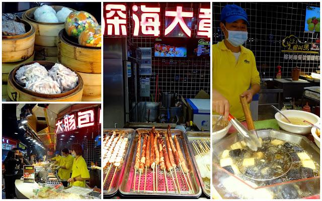 Fujian Cuisine Zhongshan Lu Pedestrian Street in Xiamen, China