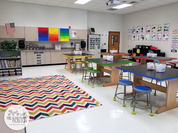 ' Set Art Room School Year