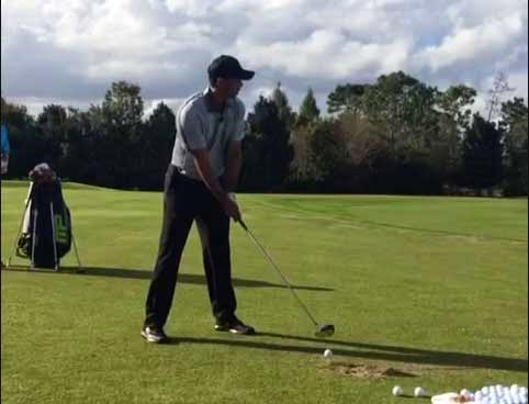 Tiger's New Swing