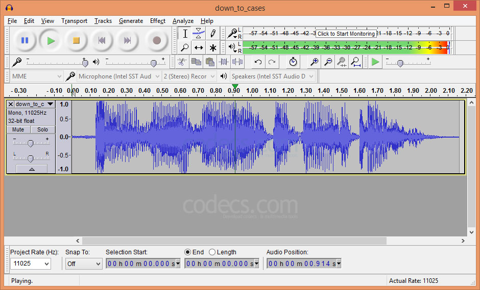 Voiceover One: Audacity Equalization For Voiceover