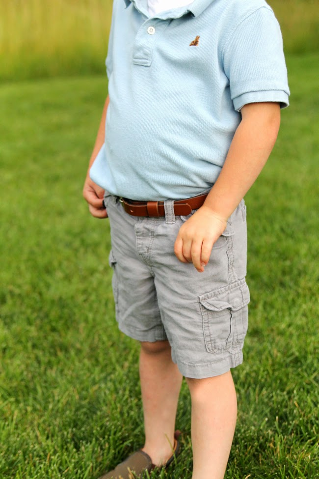 Real leather belt for toddlers- ONE little BELT
