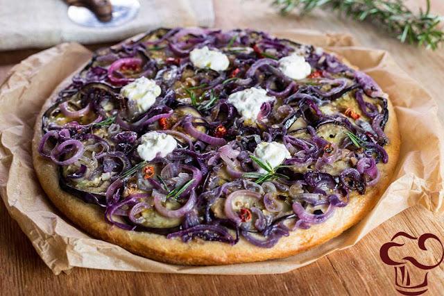 Pizza Blanca receta