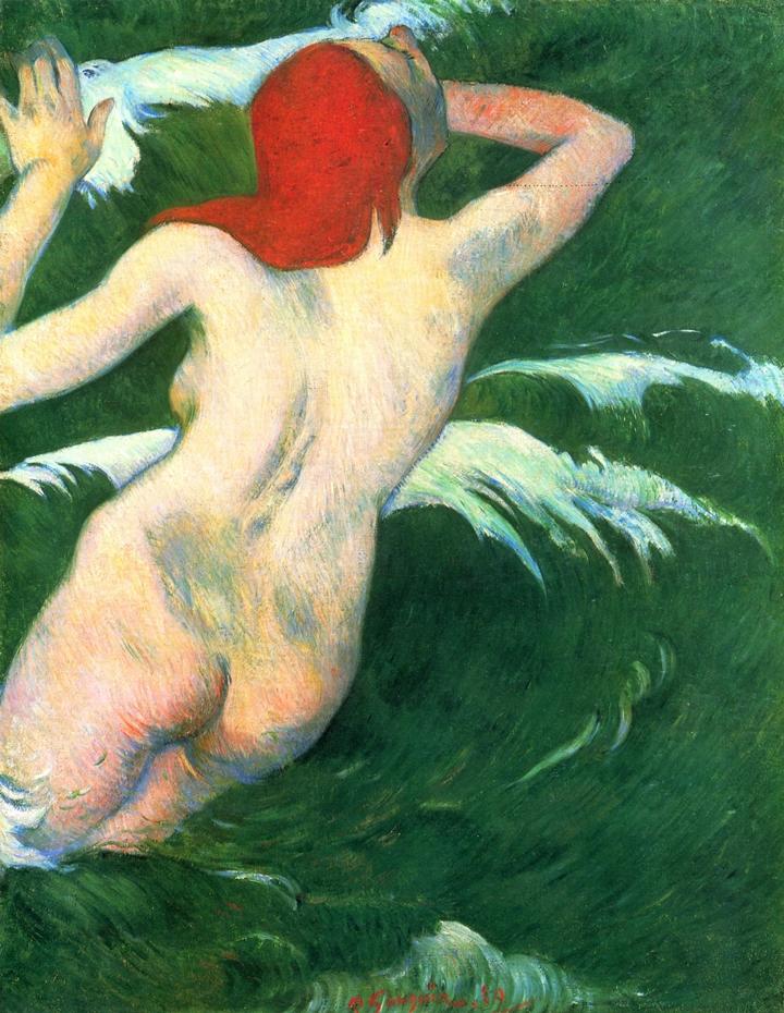 Paul Gauguin 1848-1903 | French Post-Impressionist painter | The portrait