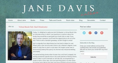 Interview With Karl On Jane Davis' Website