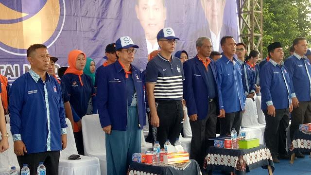 Ikuti Jalan Sehat, Syahrial Oesman Ajak Warga Jadi Pemilih Cerdas Dan Ikut Sukseskan Pilkada