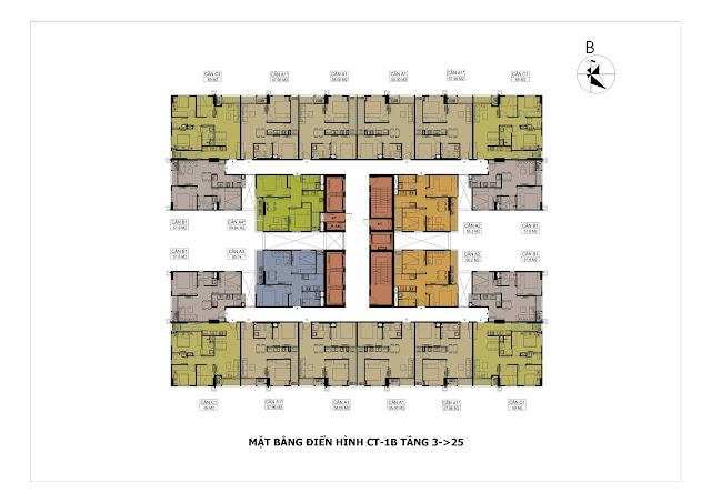 Dự án chung cư Hateco Apollo Xuân Phương