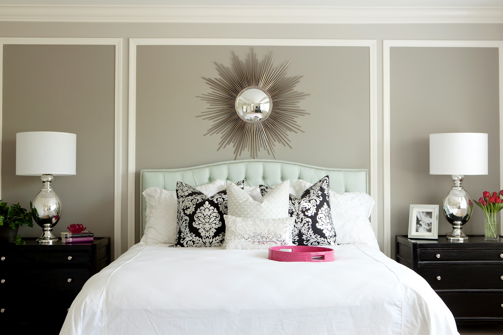 Bdg style two shades of grey - Wall painting ideas for bedroom ...