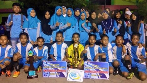 Penantian Panjang Tim Futsal MI MUTU Watukebo Akhirnya Jadi Kampiun