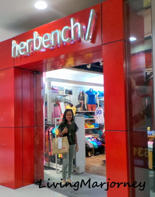 Shopping at Herbench with Globe Rewards