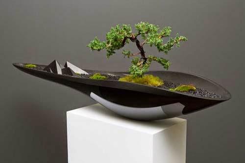 Unique Bonsai Pots By Adrian Magu