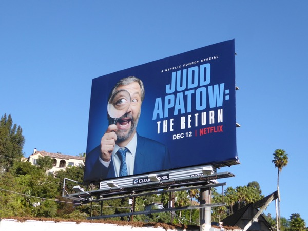 Judd Apatow Return billboard