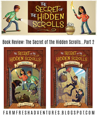 The Secret of the Hidden Scrolls {Book Review}