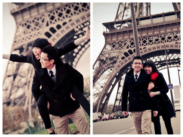 engagement session in paris