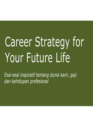 Ebook: Career Strategy - Strategi Bisnis