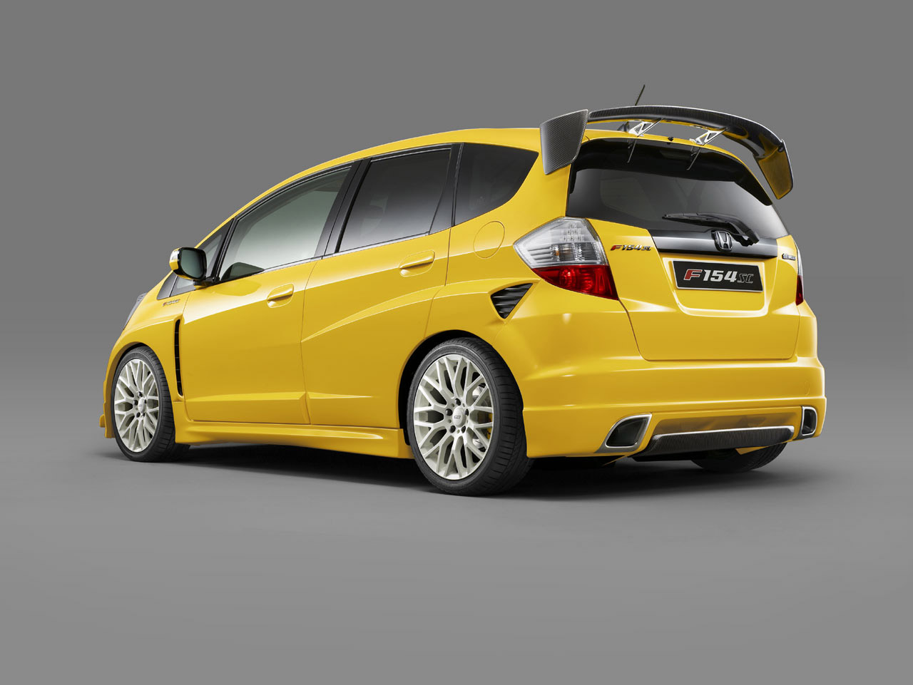 Best Car Wallpaper: Honda Jazz Yellow Special