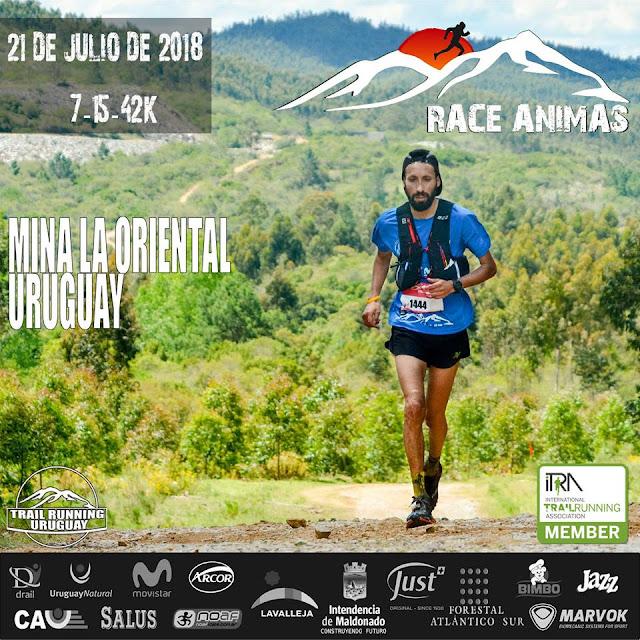 42k - 15k - 7k Race ánimas en Mina La oriental (Lavalleja y Maldonado, 21/jul/2018)