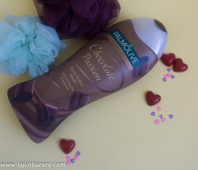 gel palmolive gourmet chocolate