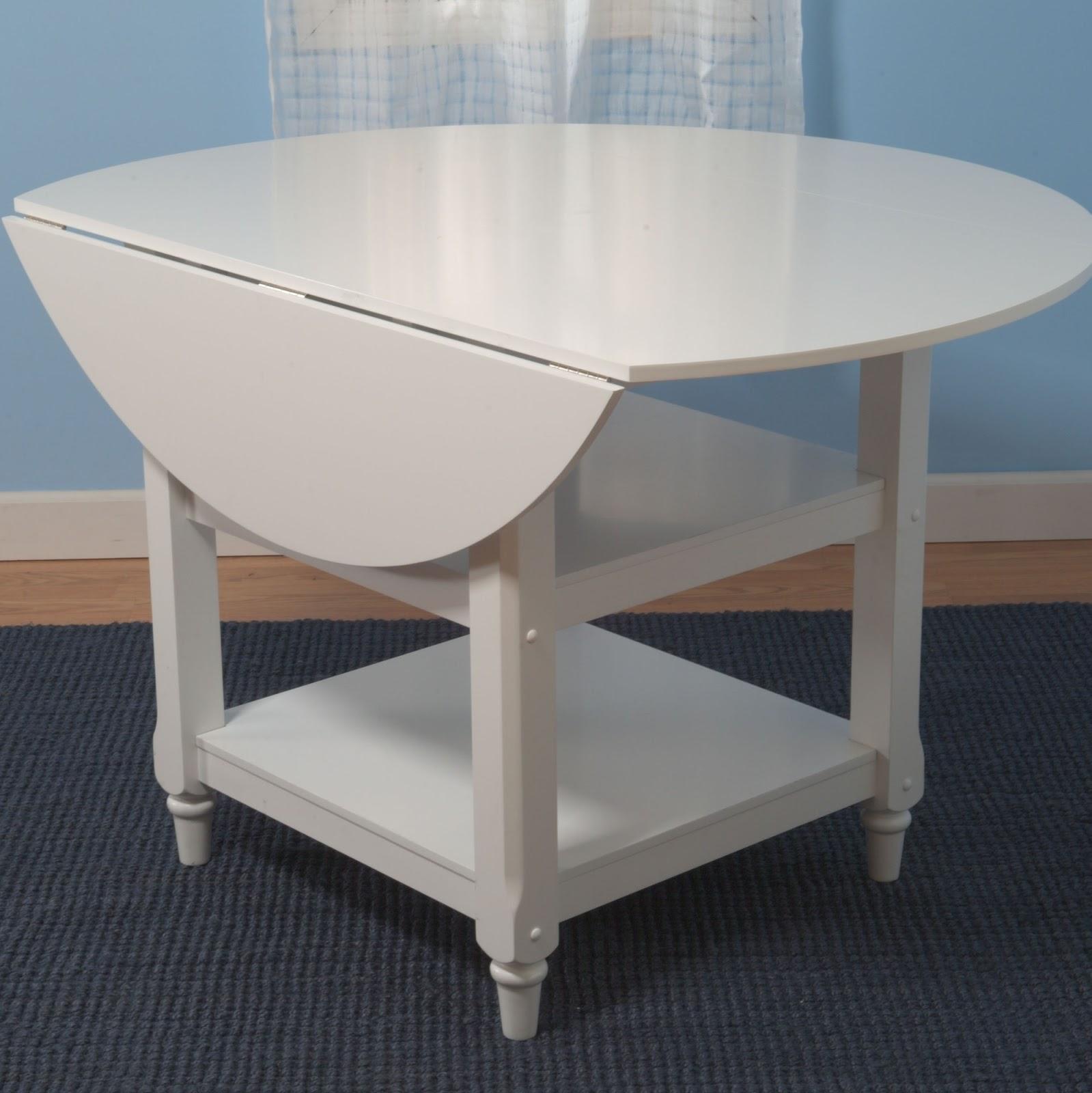 copy cat chic pottery barn shayne drop leaf kitchen table. Black Bedroom Furniture Sets. Home Design Ideas