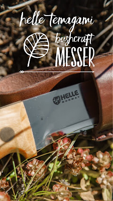 Gear of the Week #GOTW KW 32 | Helle Temagami Bushcraft Messer | Helle-Temagami-Test Les-Stroud-Messer