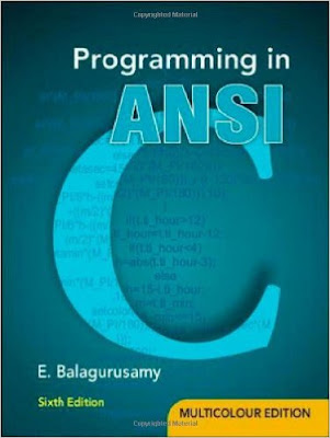 Download Free Balaguruswamy C Programming book PDF