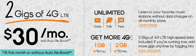 boost mobile best prepaid cell phone plans usa