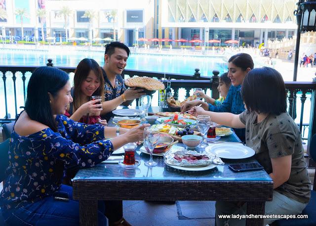Bloggers in Gunaydin Dubai