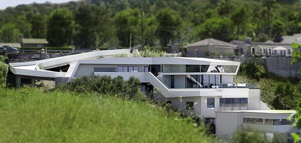 desain rumah masa depan unik dan futuristik rancangan