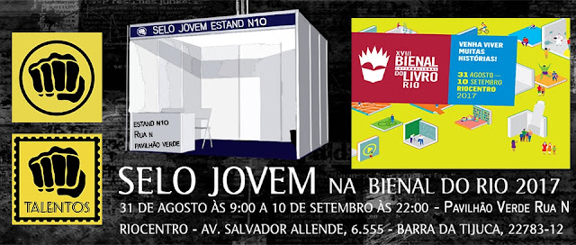A editora Selo Jovem estará na Bienal do Rio 2017