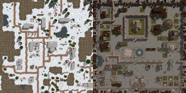 Silbran map & Hluthvar map