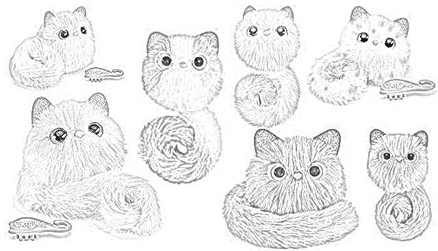 Pomsies coloring pages holiday.filminspector.com