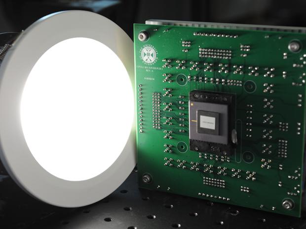 Li-fi chipset