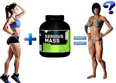 Proteínas masa muscular mujer