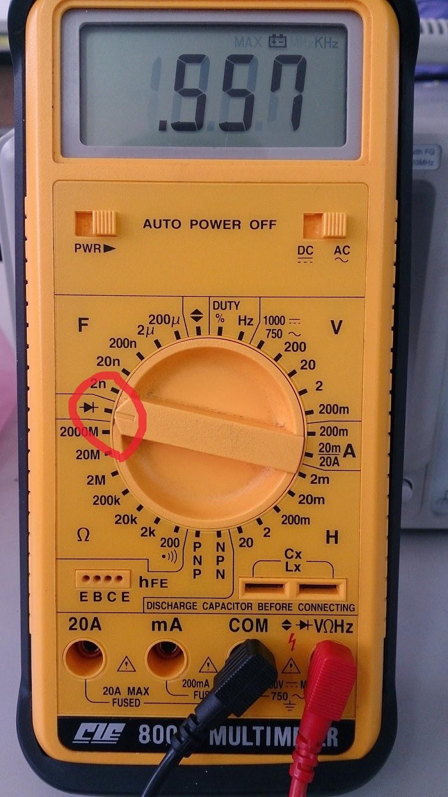 生活初體驗: 基礎電子電路.....認識與檢測常用的電子零件~