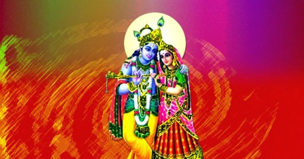 Citizen Love For Radha Miss Wallpaper Download: Radha Krishna Play Holi, Greetings Cards In Hindi