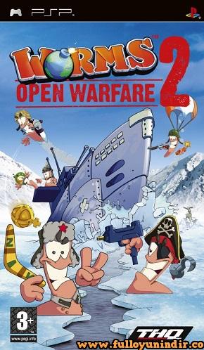 Worms Open Warfare 2 PSP